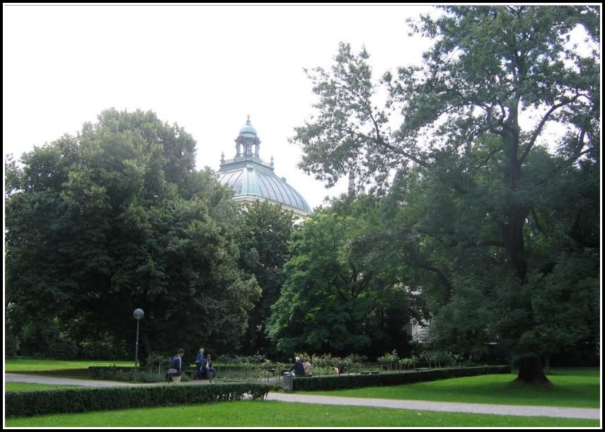 Alter Botanischer Garten München Parkcafe