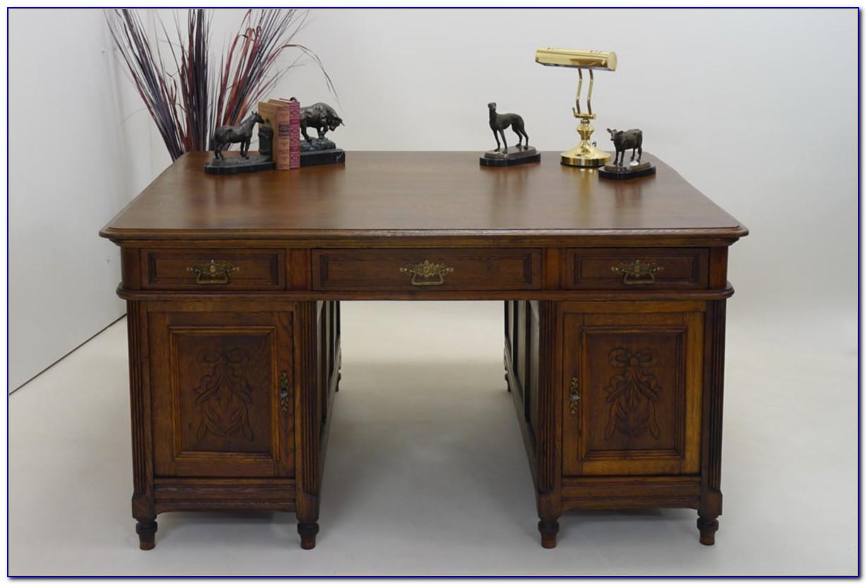 Alter Schreibtisch Ebay