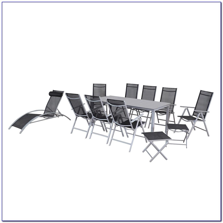 Aluminium Gartenmöbel Set Catania
