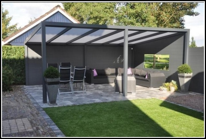 Aluminium Terrassenüberdachung Bausatz