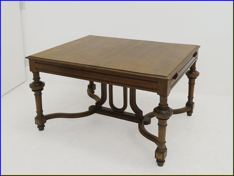 Antiker Esstisch Ausziehbar Und Technisch Raffiniert