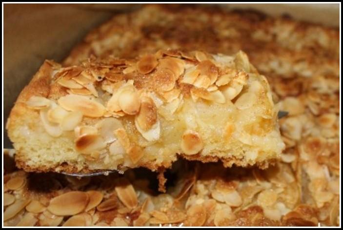 Apfel Blechkuchen Rührteig