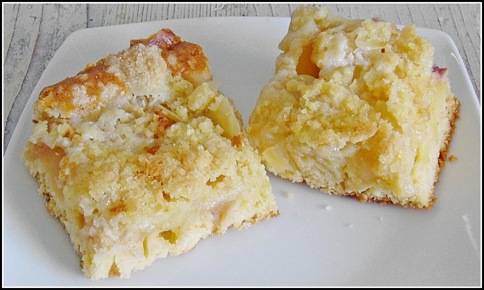 Apfel Blechkuchen Rezept