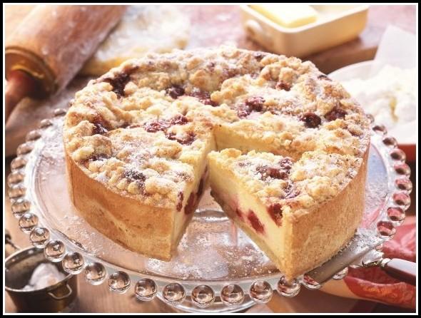 Apfel Kirsch Quark Kuchen