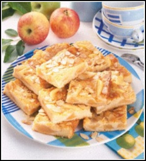 Apfel Mandel Kuchen Blech