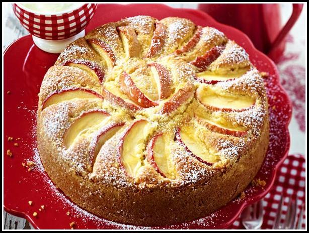 Apfel Mandel Kuchen Brigitte