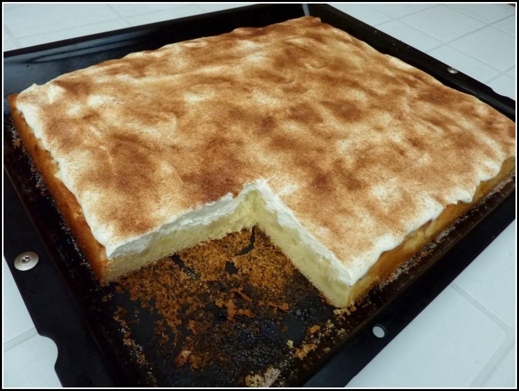 Apfel Pudding Kuchen Mit Streusel