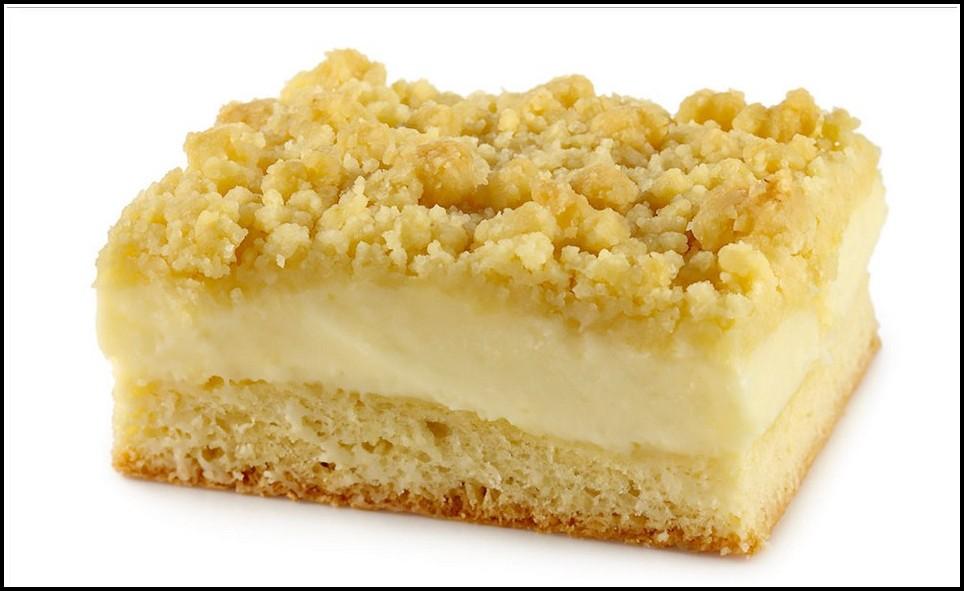 Apfel Pudding Kuchen Streusel
