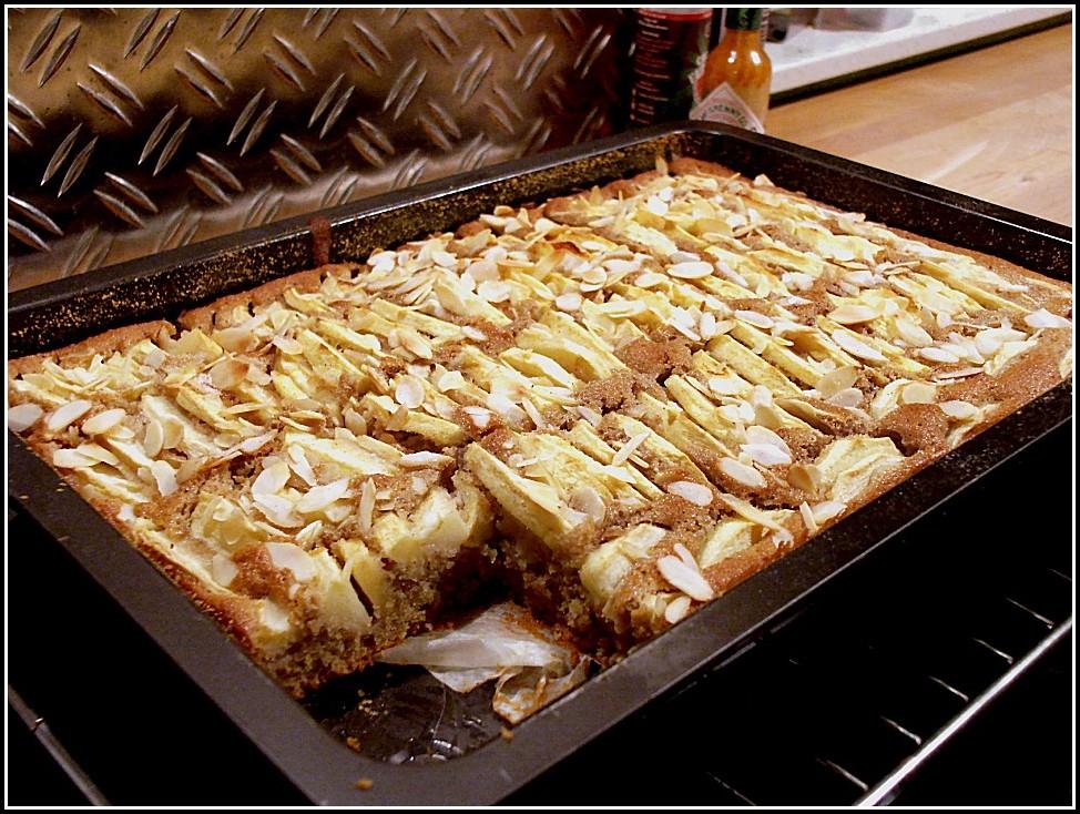Apfel Quark Blech Kuchen