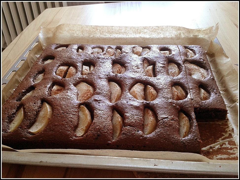 Apfel Schoko Kuchen Thermomix