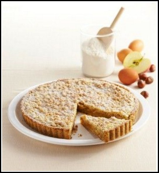 Apfel Streusel Kuchen Mürbeteig