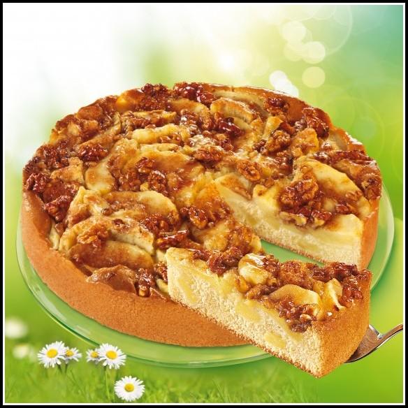 Apfel Walnuss Kuchen Backen