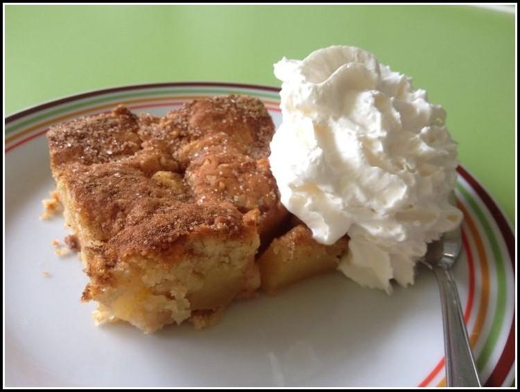Apfel Zimt Kuchen Blech