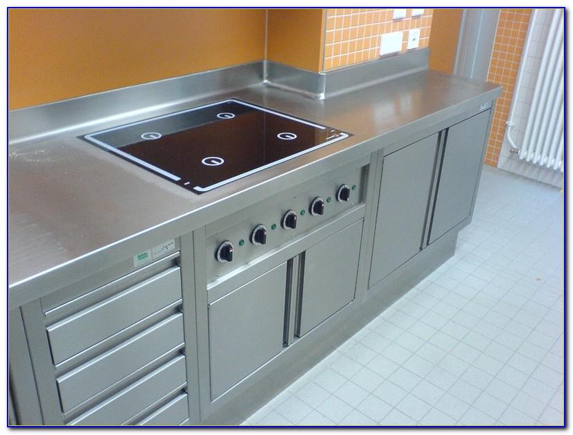 Arbeitsplatte Edelstahl Küche