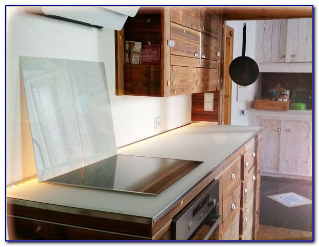 Arbeitsplatte Glas Küche