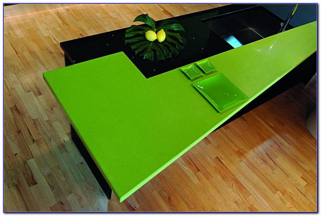 Arbeitsplatte Grün Marmoriert
