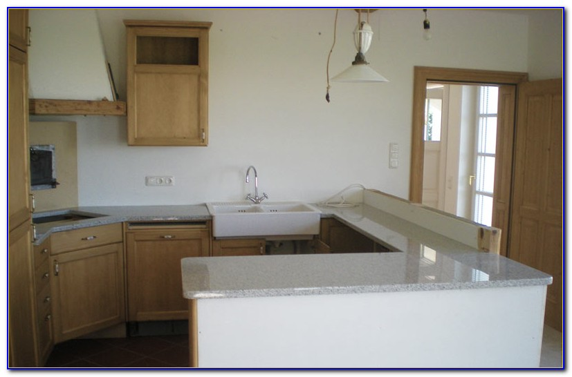 Arbeitsplatte Küche Granit Optik