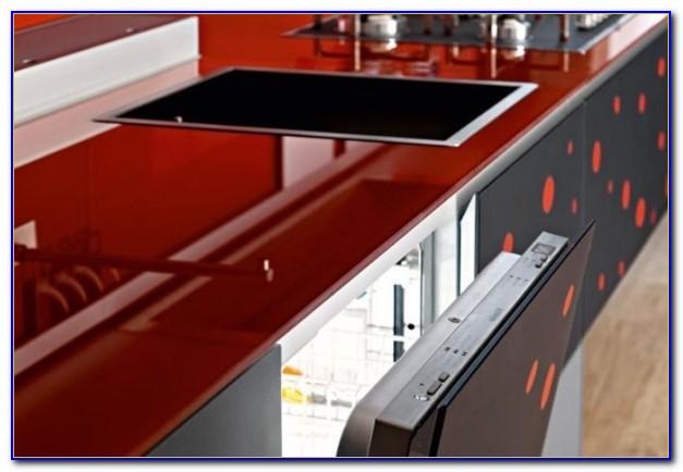 Arbeitsplatte Küche Granit Rot