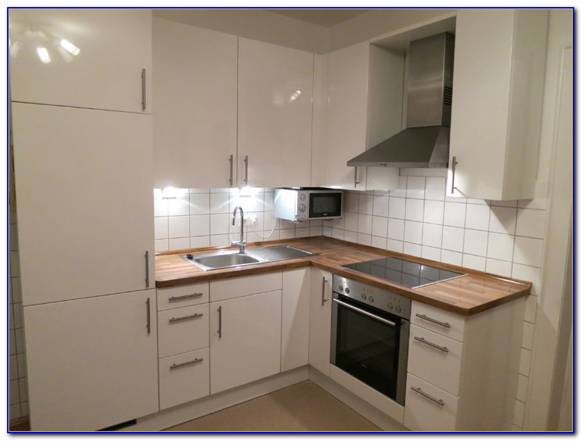 Arbeitsplatte Küche Hochglanz Weiß
