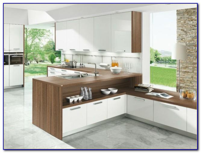 Arbeitsplatte Küche Massivholz Eiche