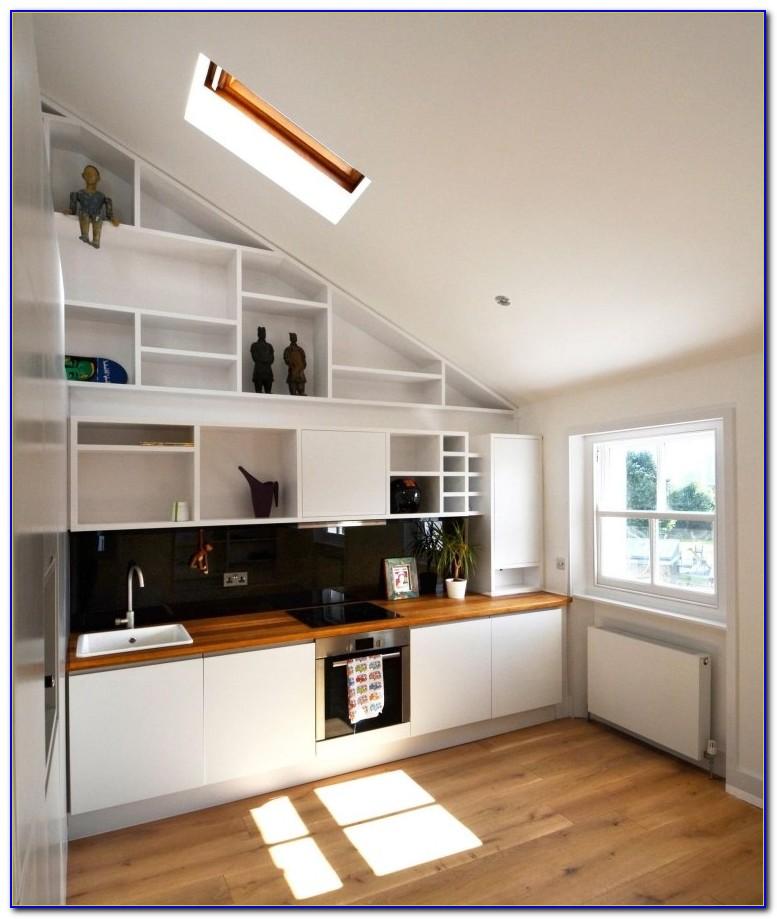 Arbeitsplatten Küche Holzdekor