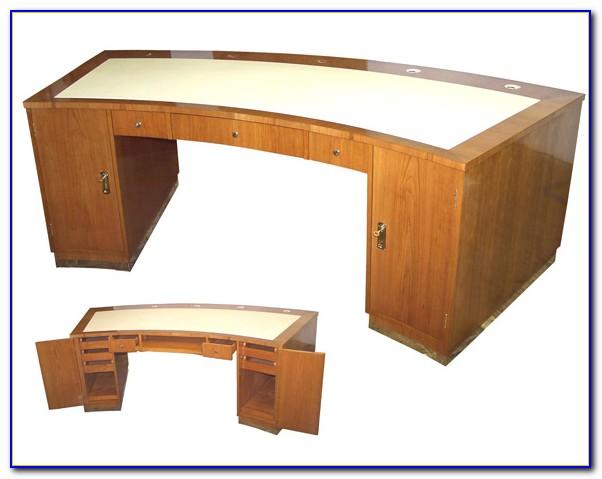 Art Deco Schreibtischstuhl