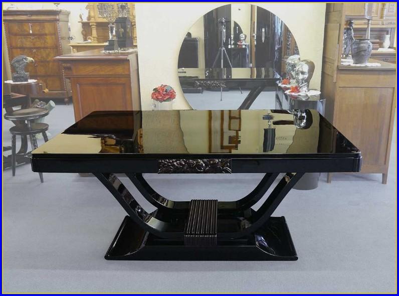 Art Deco Tisch Rund