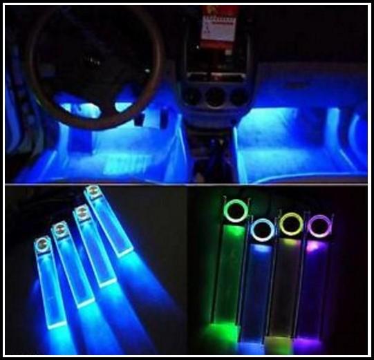Auto Innenraum Led Beleuchtung Mit Musik Sensor