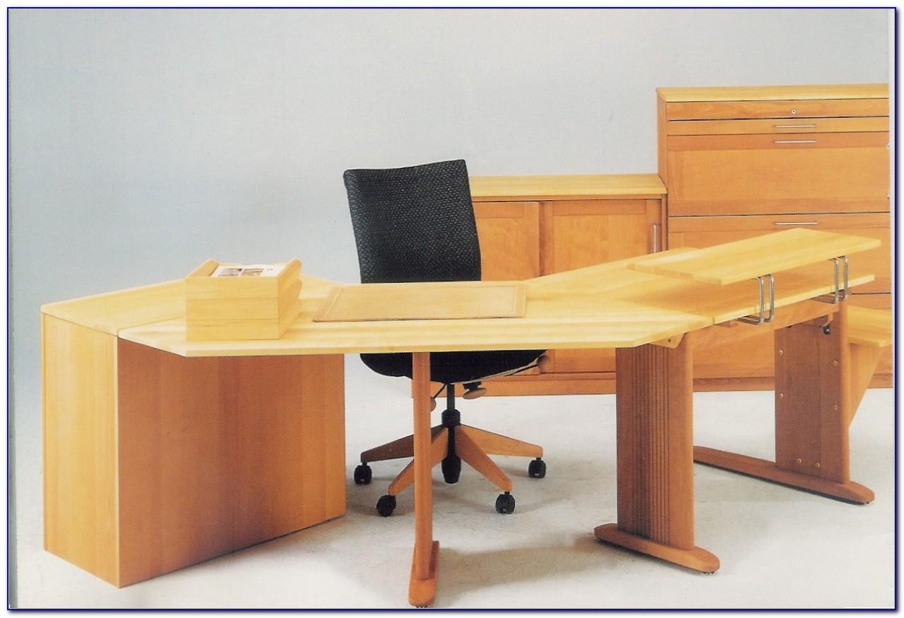 Büro Schreibtisch Mit Besprechungstisch