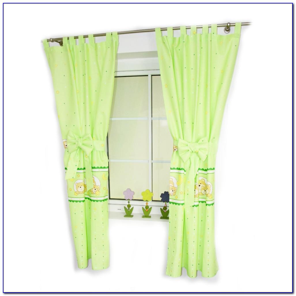 Babyzimmer Vorhang