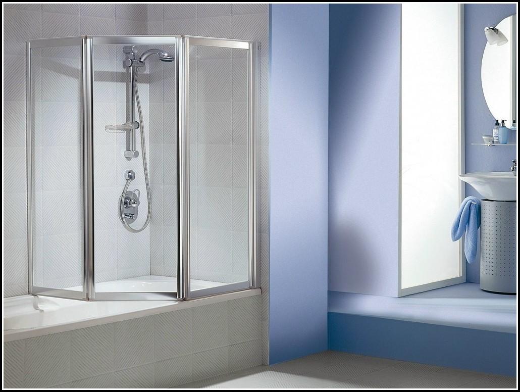 Badewanne Duschabtrennung Glas