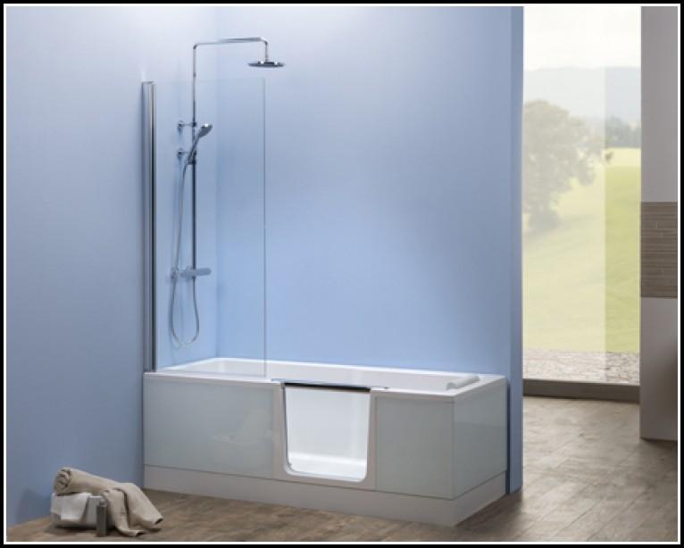 Badewanne Duschabtrennung Montieren