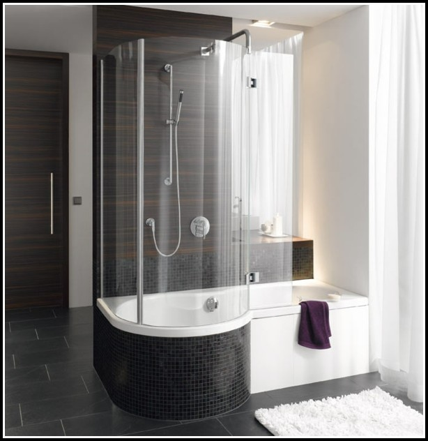 Badewanne Duschkabine Kombination