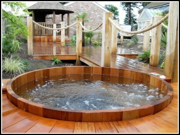 Badewanne Gartenteich