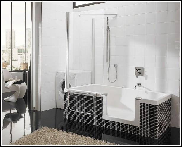 Badewanne Mit Integrierter Duschkabine