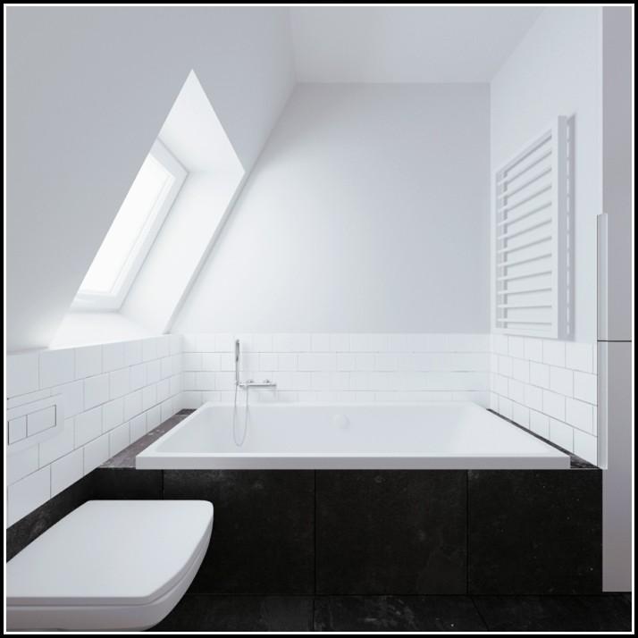 Badewanne Unter Dachschräge Einbauen