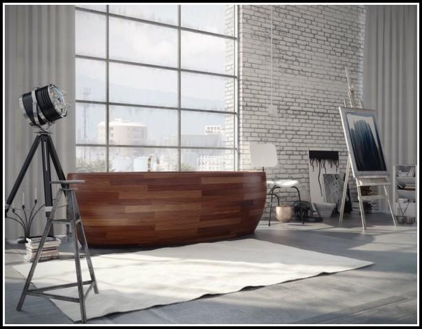 Badewannen Holzverkleidung