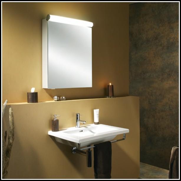 Badezimmer Beleuchtung Spiegelschrank