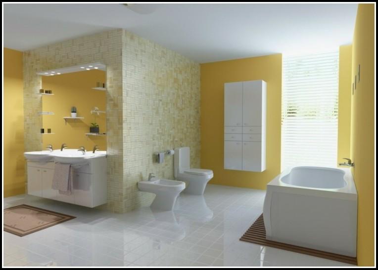 Badezimmer Fliesen Streichen Farbe