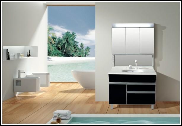 Badezimmer Spiegelschrank Beleuchtung Alibert