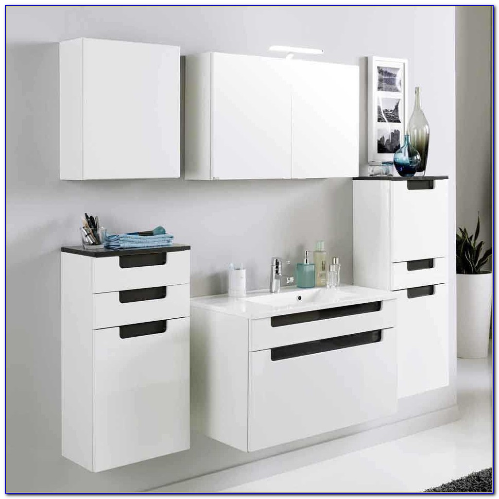 Badmöbel Weiß Hochglanz Ikea