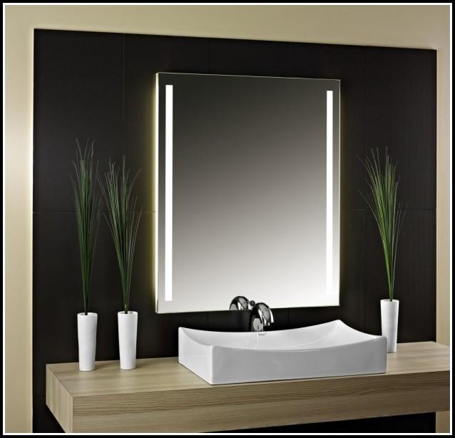 Badspiegel Mit Beleuchtung Und Ablage