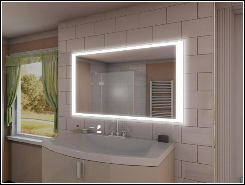 Badspiegel Mit Led Beleuchtung Und Ablage