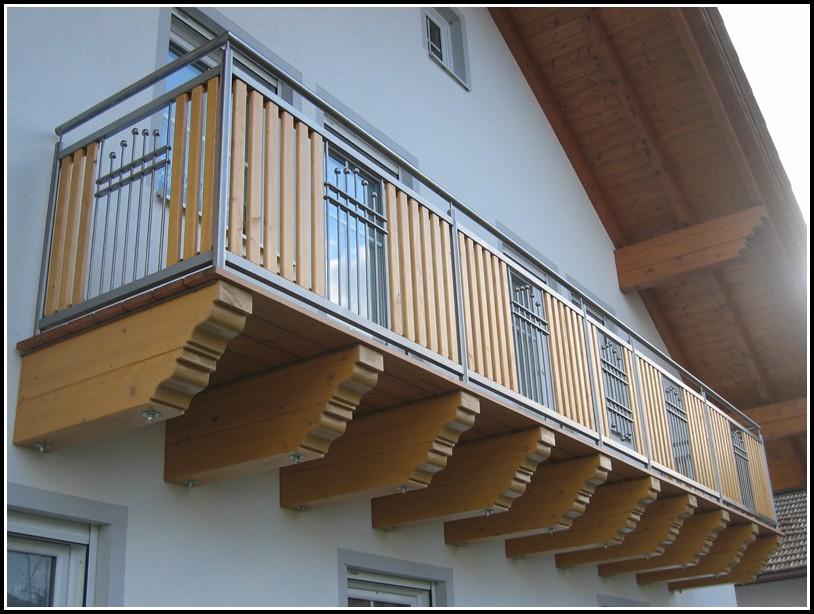 Balkon Aus Holz Anbauen
