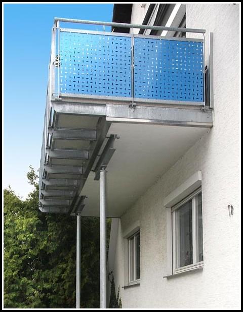 Balkon Aus Holz Oder Stahl