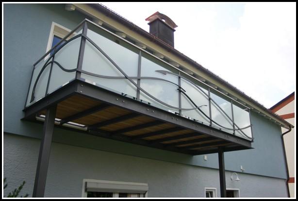 Balkon Aus Stahl Selber Bauen