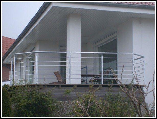 Balkon Aus Stahlträgern