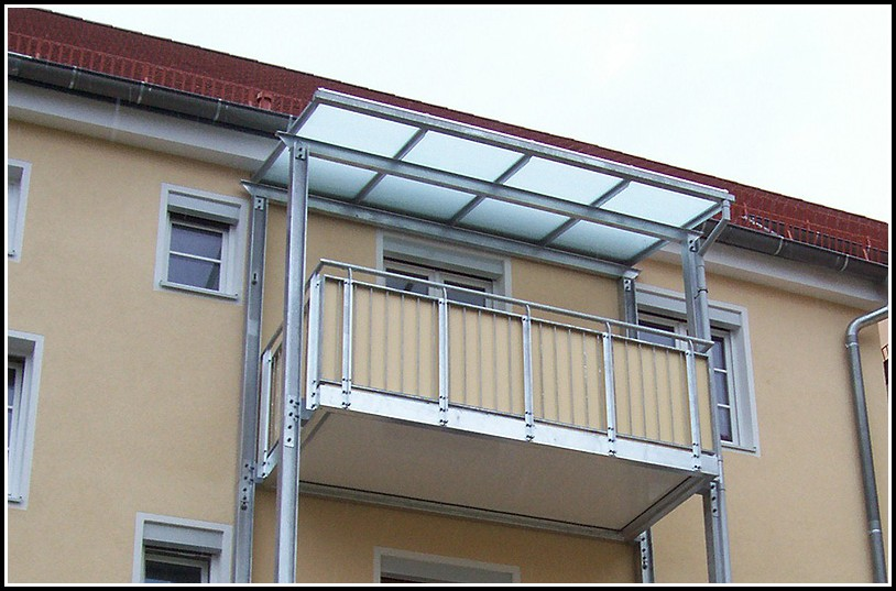Balkon Aus Verzinktem Stahl