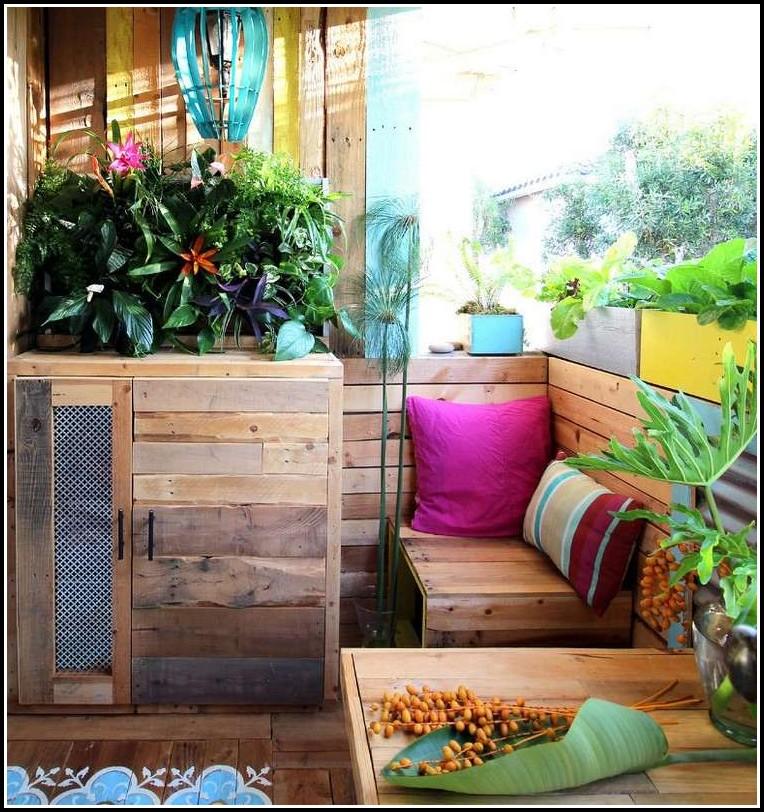 Balkon Blumenkästen Holz