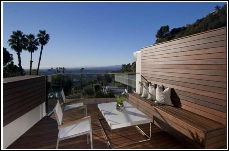 Balkon Bodenbeläge Holz